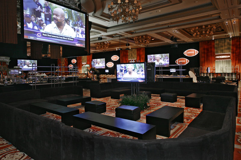 sports viewing party at bellagio Las Vegas