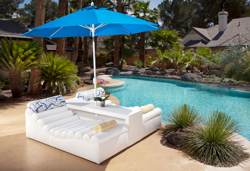 poolside furniture for HGTV Property Brothers at Home collectionfurniture for HGTV interior design solutions Maui