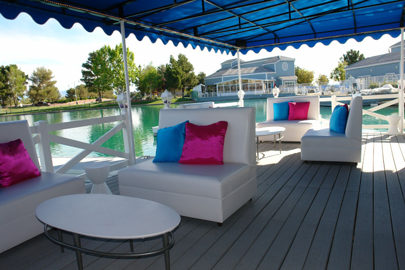 rental seating and furniture for lakes yacht club