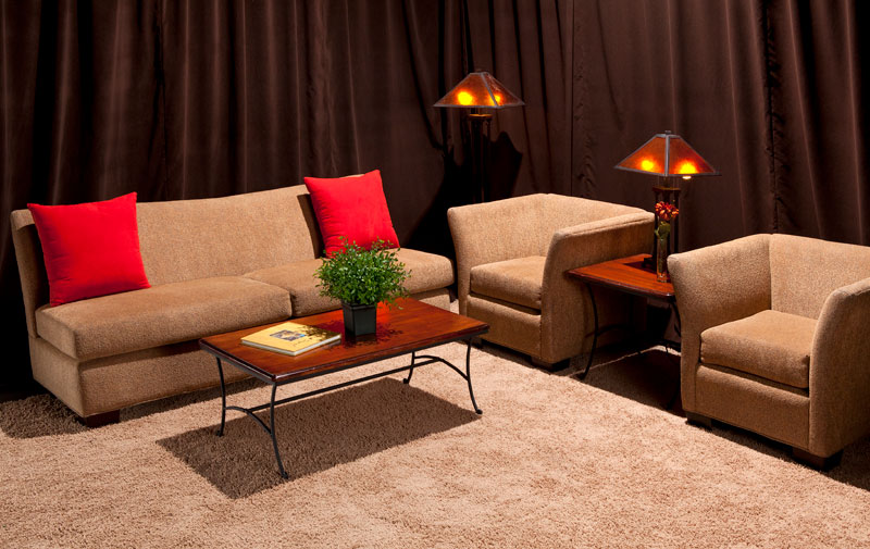inviting and stylish commercial rental furniture and seating