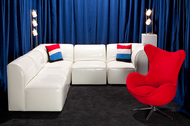 fun rental furniture for residential or commercial use displayed in showroom Las Vegas