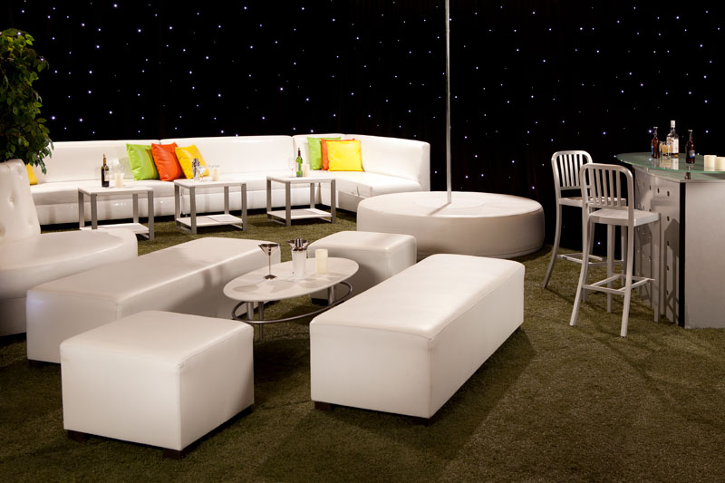 fun rental beach furniture for commercial or residential properties displayed in Las Vegas showroom