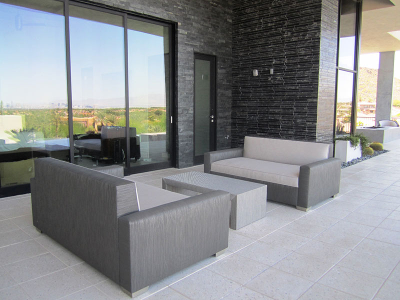 modern chic custom furniture for residential and commercial properties in Dragon Ridge Las Vegas