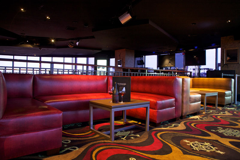 bold custom commercial furniture for VooDoo Nightclub in Las Vegas