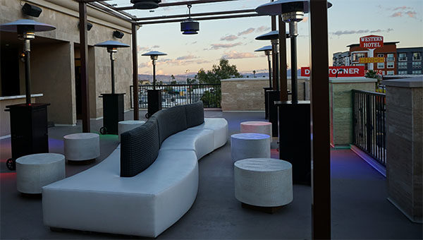 las vegas birthday party furniture rental - outdoor