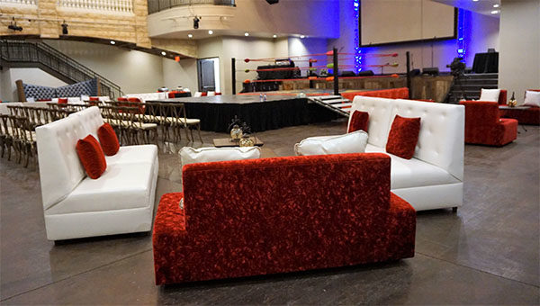 las vegas birthday party furniture rental