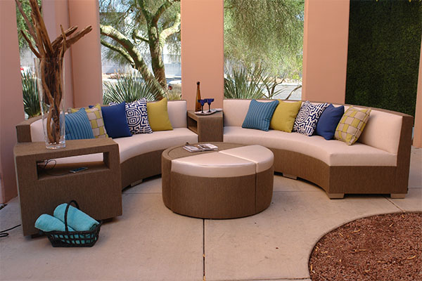 Luxury outdoor entertaining with Somers Furniture
