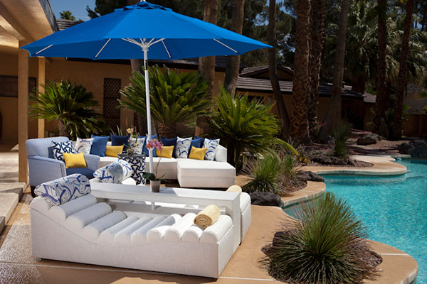 Poolside luxury with Somers Furniture