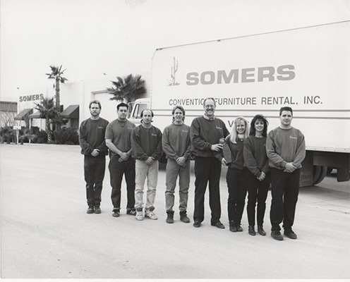 Somers Furniture crew 1991