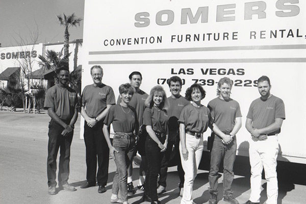 Somers Furniture crew 1994