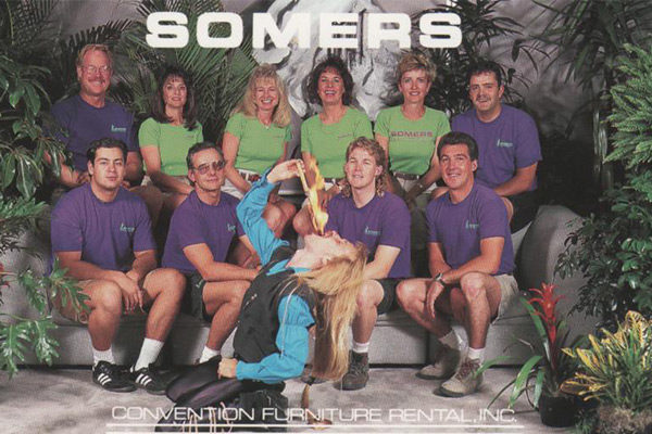 Somers Furniture crew 1995