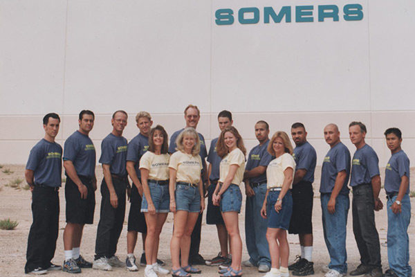 Somers Furniture crew 1998