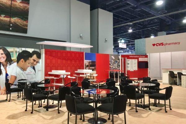 CVS booth at Las Vegas Convention Center