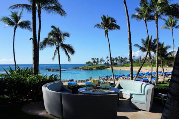 custom outdoor beachside seating and furniture for Marriott KoOlina Oahu Hawaii