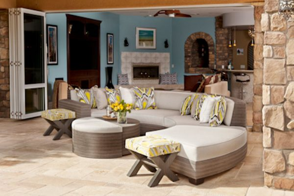 resort style custom furniture for residential and commercial properties at Southern Highlands Las Vegas